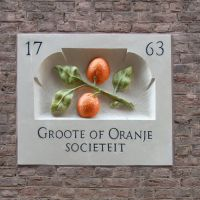 Groote of Oranje Sociëteit.