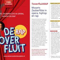 De Toverfluit Rap - Mozarts Zauberflöte in opera, hiphop en rap